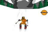 Downhill-skiing-with-a-squirrel