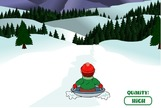 Luge-game-with-a-child