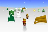 Snowboarding-game-with-a-little-boy