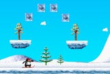 Snowboarding-game-with-a-yeti-and-a-penguin