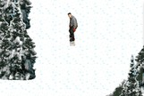 Snowboarding-game-with-the-mouse