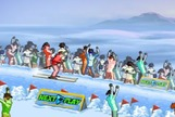 Play-freestyle-skiing