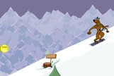 Snowboarding-cluiche-le-scooby-doo